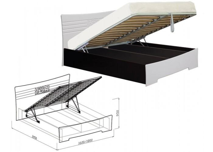 Атлантида Кровать №1 подъёмная (950x1600x2050) в Калуге