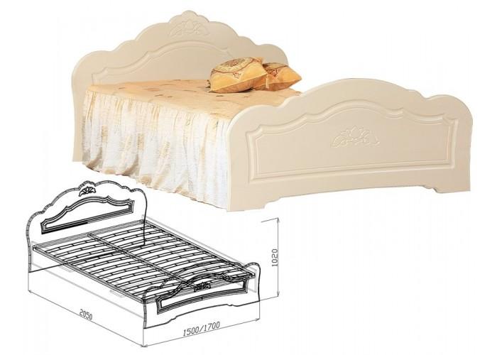 Корона Кровать №1 (1020x1500x2050) в Калуге