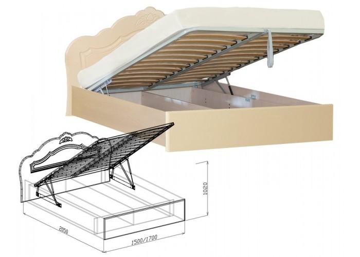 Корона Кровать подъёмная №2 (1020x1500x2050) в Калуге