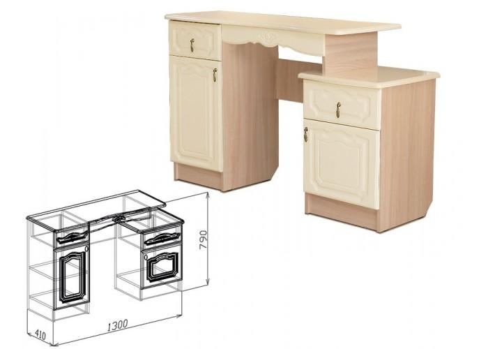 Корона Туалетный столик (790x1300x410) в Калуге