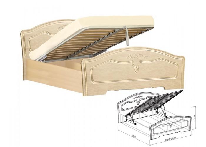 Лира Кровать №1 подъёмная (1020x1600x2050) в Калуге
