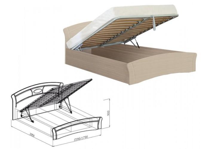 Марта Кровать №1 подъёмная (900x1590x2050) в Калуге