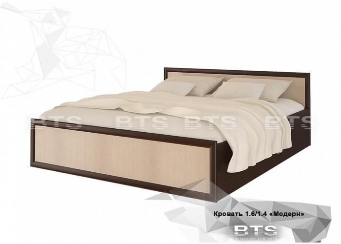 Модерн кровать 1,4м (860x1550x2032) в Калуге