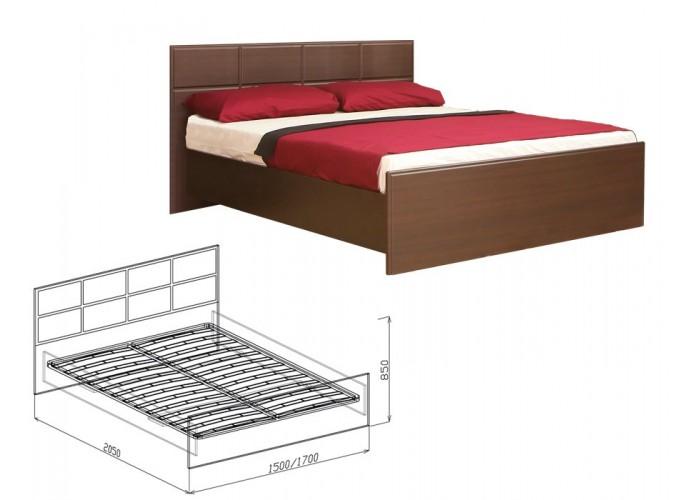 Палермо Кровать №1 (850x1500x2050) в Калуге