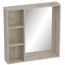 Полка с зеркалом 800 Фан (800x800х166)