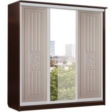 Роберта Шкаф Купе 3х Дверь+Зеркало+Дверь (2180x2280x710)