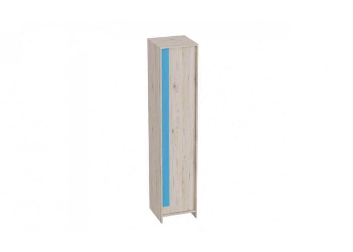Шкаф 1-дверный Скаут Индиго (1990x420x420) в Калуге
