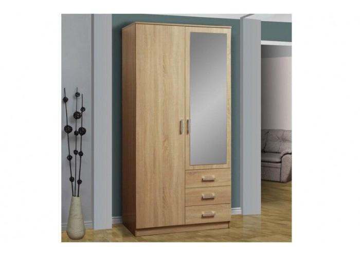 Шкаф для одежды 06.290 Фриз с зеркалом в Калуге