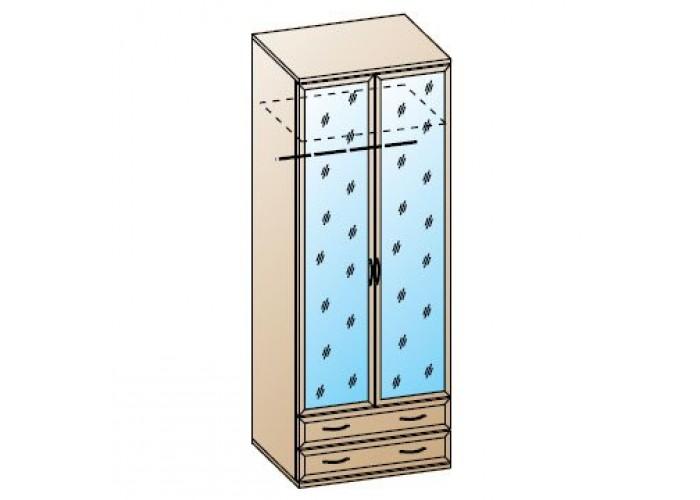 Шкаф для одежды и белья ШК-1007 (2224x900x576) в Калуге
