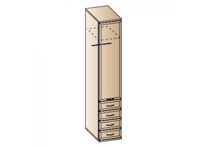 Шкаф для одежды и белья ШК-1024 (2224x450x576) в Калуге
