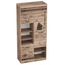 Шкаф с тремя дверями Фрегат (1975x925x425)