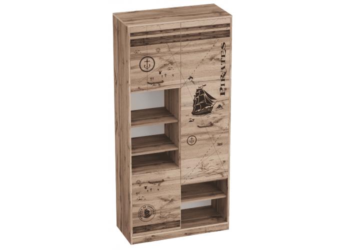 Шкаф с тремя дверями Фрегат (1975x925x425) в Калуге