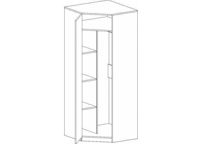Шкаф угловой Фрегат (1975x790x790) в Калуге