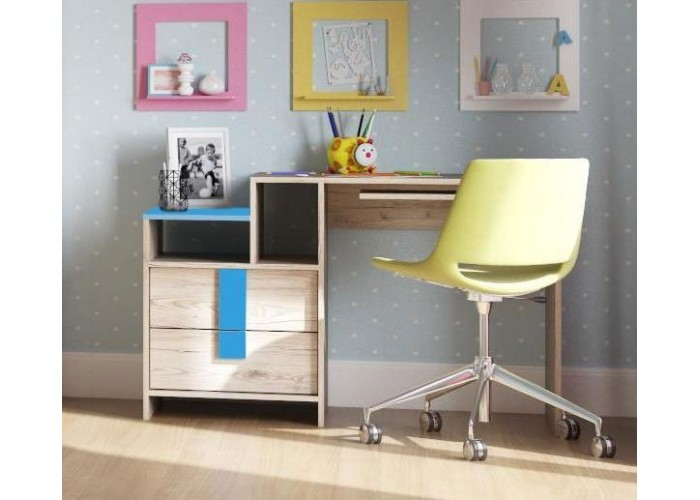 Стол письменный Скаут Индиго (750x1200x550) в Калуге
