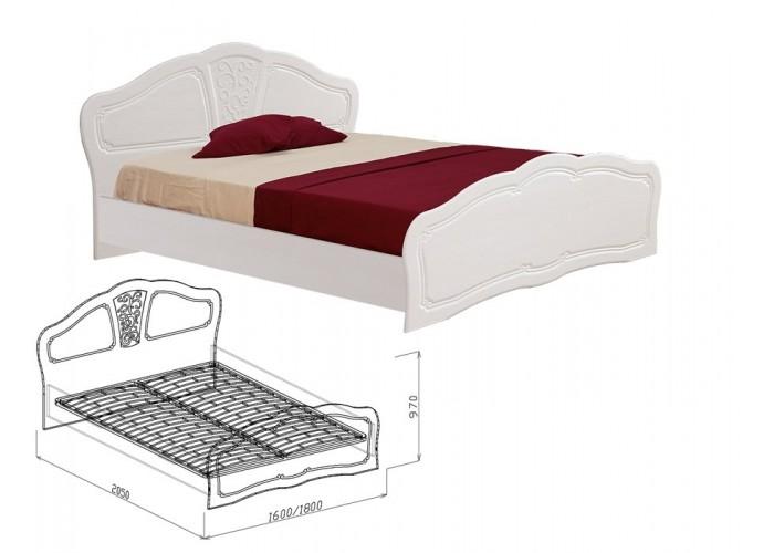 Тиффани Кровать №2 (970x1600x2050) в Калуге