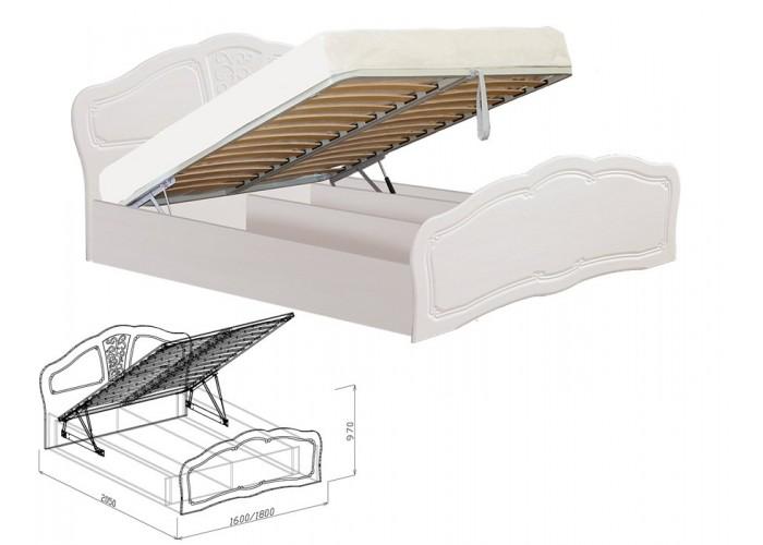 Тиффани Кровать №2 подъёмная (970x1600x2050) в Калуге