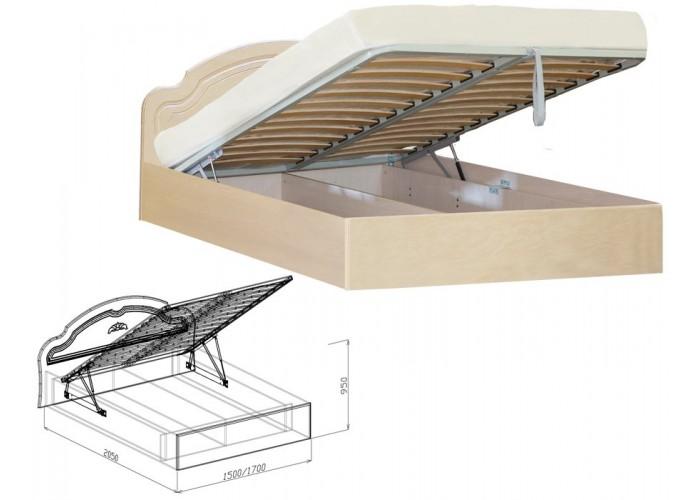 Валенсия Кровать №2 подъёмная (950x1500x2050) в Калуге