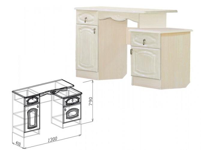 Валенсия Туалетный столик (790x1300x410) в Калуге