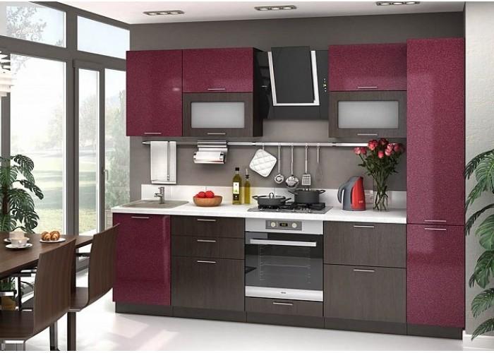 Кухня Валерия металлик