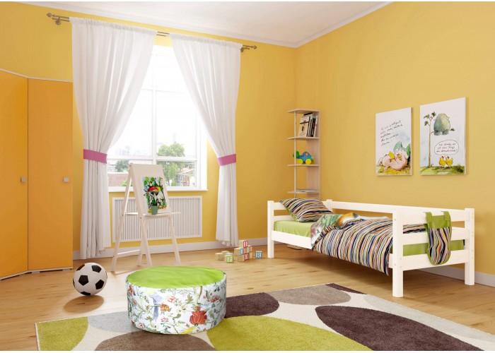 Детская кровать Соняс задней защитой вариант 2 в Калуге