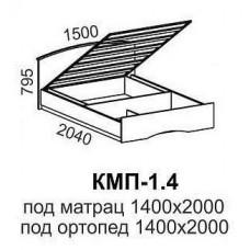 Кровать КМП-1,4