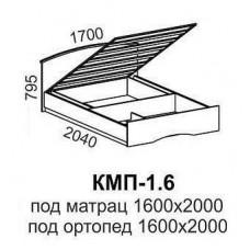 Кровать КМП-1,6