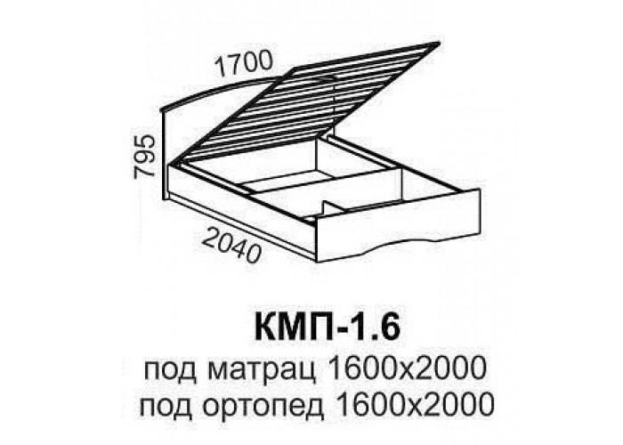 Кровать КМП-1,6 в Калуге