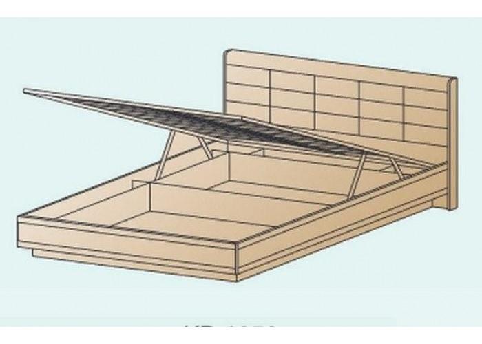 Кровать КР-1853 1,6х2,0 (1150(370)х1705х2080) в Калуге