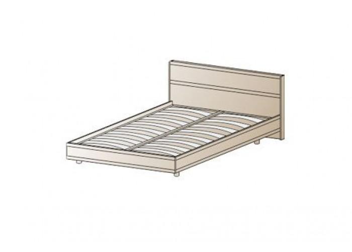 Кровать КР-2001 1,2х2,0 (955(370)х1305х2065) в Калуге
