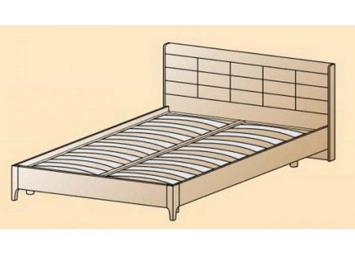 Кровать КР-2854 1,8х2,0 (1150(370)х1905х2080) в Калуге