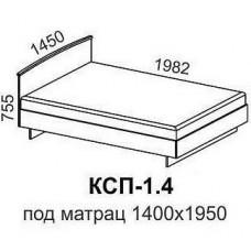 Кровать КСП-1,4