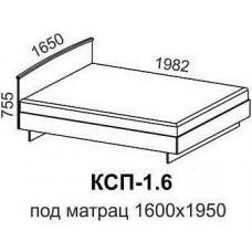 Кровать КСП-1,6
