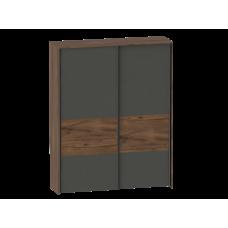 Шкаф с раздвижными дверями Глазго (2300x1800x605)