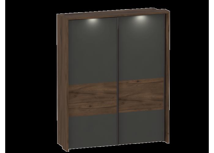 Шкаф с раздвижными дверями с обрамлением Глазго (2350x1900x650) в Калуге