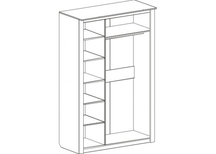 Шкаф трехдверный Элана в Калуге