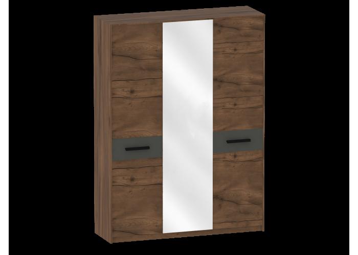 Шкаф трёхдверный Глазго (2265x1650x535) в Калуге