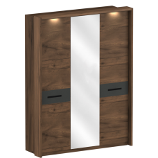 Шкаф трёхдверный с обрамлением Глазго (2315x1745x600)