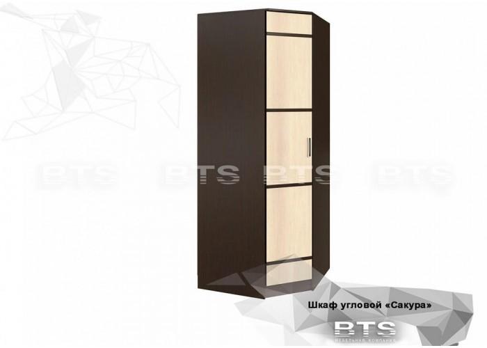 Сакура шкаф угловой (2216x876x876) в Калуге