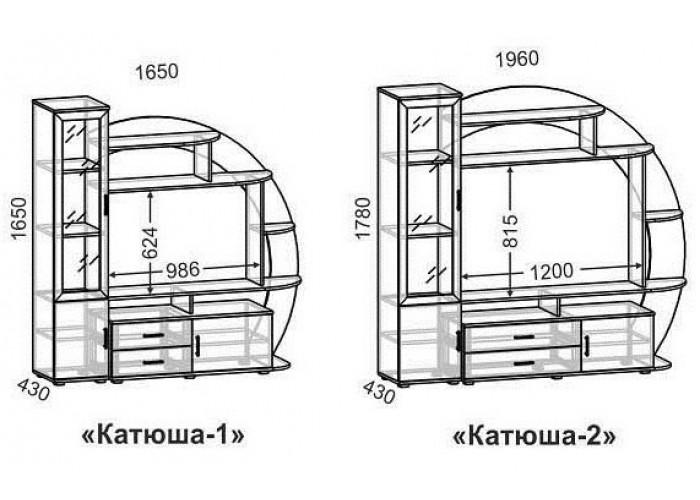 Стенка Катюша-1 в Калуге
