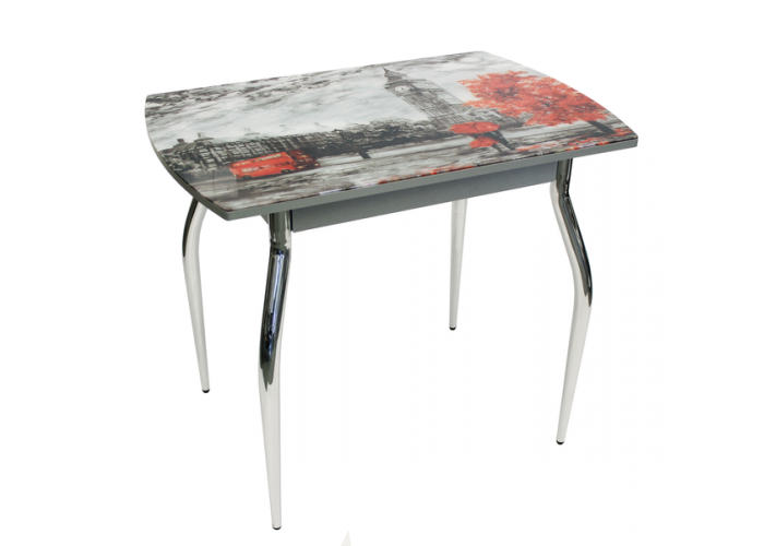 Стол обеденный 5.1 Mini Лондон серый муар/S100 в Калуге