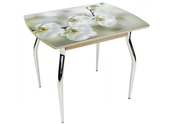 Стол обеденный 5.1 Mini орхидея беленый дуб в Калуге