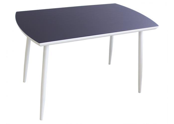 Стол обеденный Стиль 3 темно синий сатин в Калуге