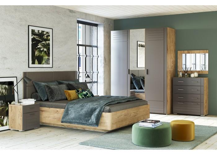 Спальня LIVORNO Графит Софт в Калуге