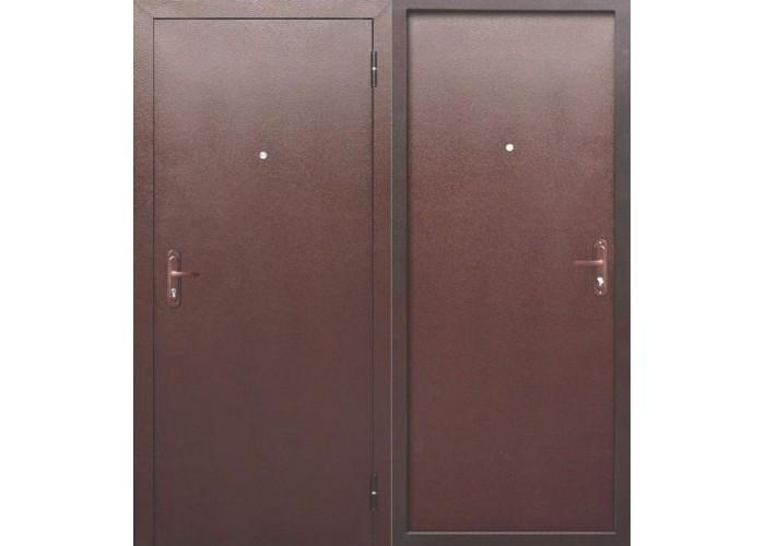 Входная дверь Стройгост 5 РФ металл/металл в Калуге