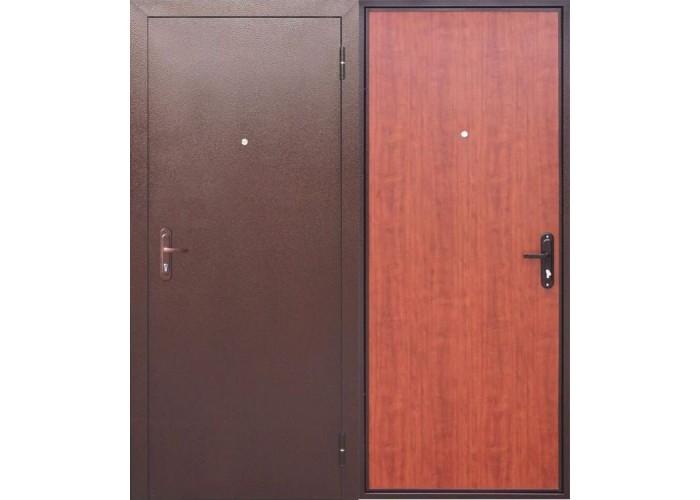 Входная дверь Стройгост 5 РФ Рустикальный дуб в Калуге