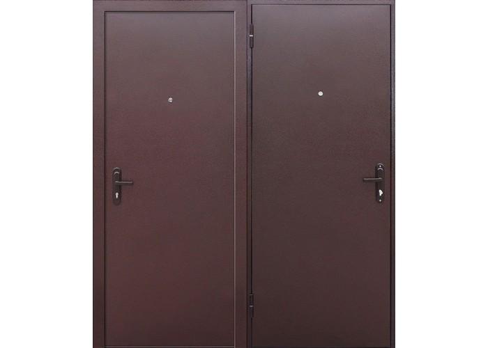Входная дверь Стройгост 5 РФ металл/металл внутреннее открывание в Калуге