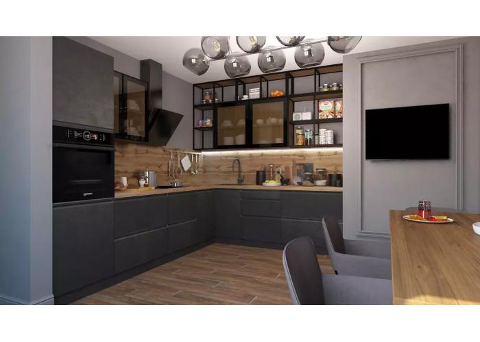 Кухонный гарнитур Бронкс 4,8 Бетон в Калуге