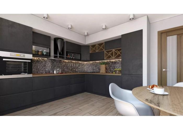 Кухонный гарнитур Бронкс 5,6 Бетон