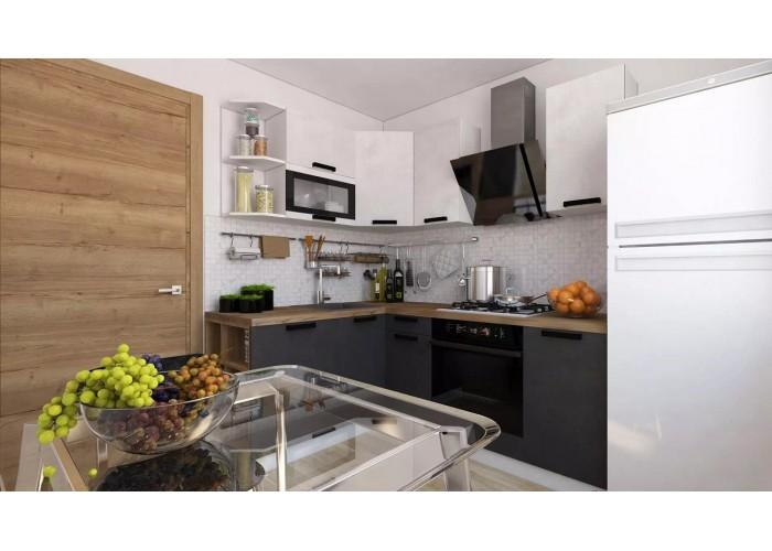 Кухонный гарнитур Фиджи 3,0 Бетон/Кварц в Калуге