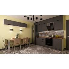 Кухонный гарнитур Монс 4,8 Графит